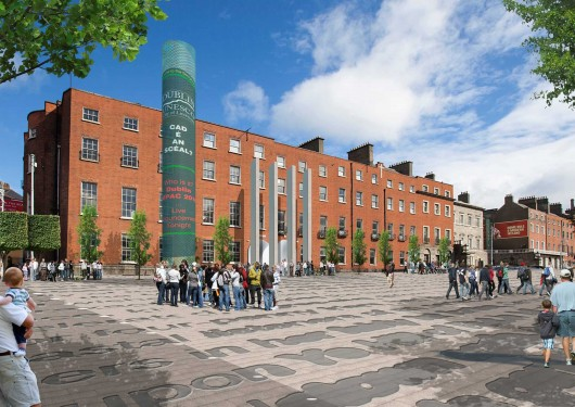 Parnell Square Cultural Quarter Artists Impression