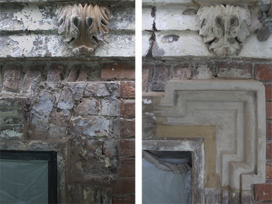 Plasterwork Before and After