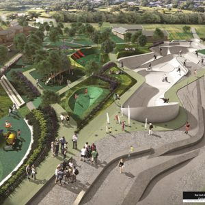 Ballyfermot Play Park Design Competition Winner Unveiled