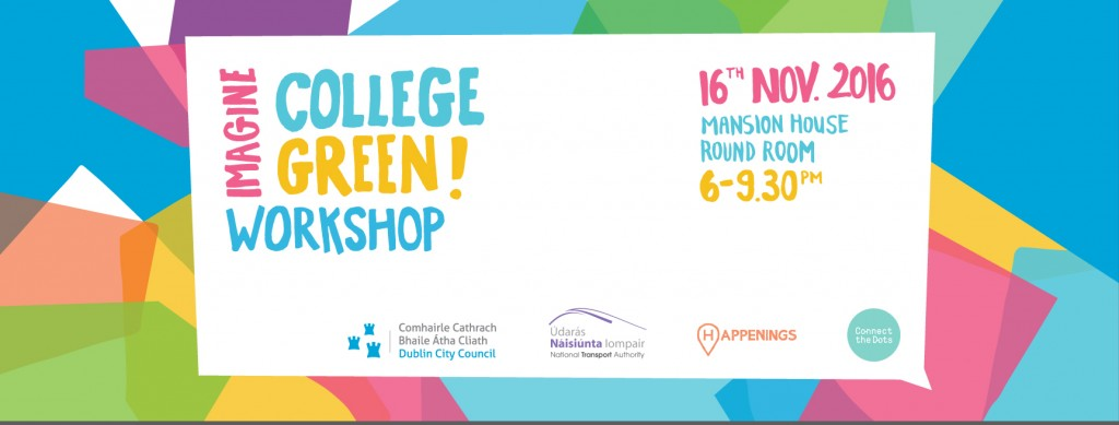 Imagine College Green – A Public Consultation Workshop