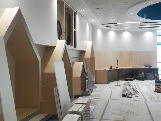 On site: Coolock Library refurbishment