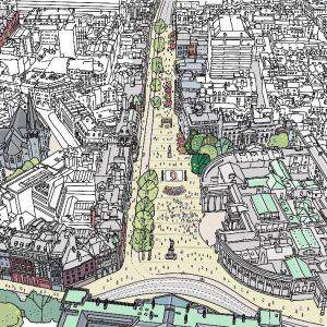 public realm opportunities on Dame Street – Early Consultation