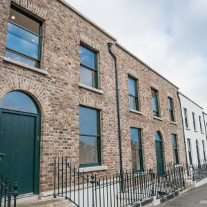 New homes and restored streetscape on Ballybough Road
